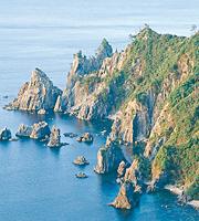 青海島(北長門海岸国定公園)